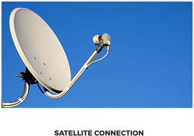 how to connect my tv to a satellite wireless