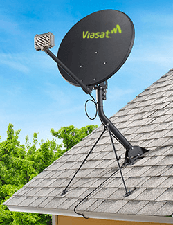Viasat Formerly Exede Internet Equipment And Installation